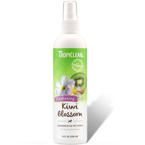 <b>15% OFF:</b> TropiClean Kiwi Blossom Deodorizing Pet Spray