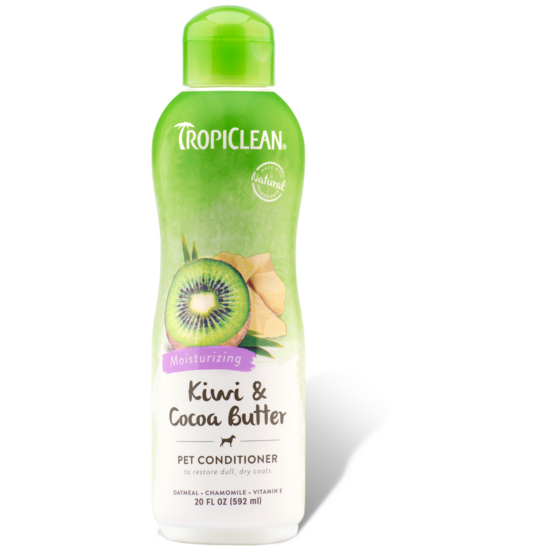 <b>10% OFF:</b> TropiClean Kiwi & Cocoa Butter Moisturizing Pet Conditioner