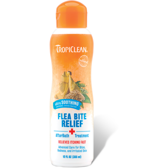 <b>15% OFF:</b> TropiClean Natural Flea & Tick Bite Relief After Bath Treatment