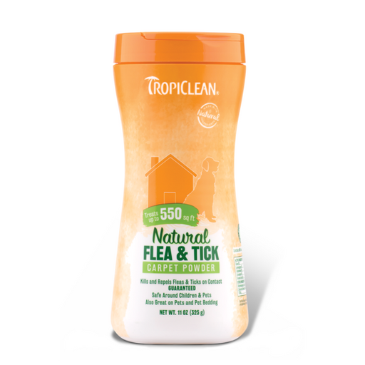 <b>10% OFF:</b> TropiClean Natural Flea & Tick Carpet & Pet Powder
