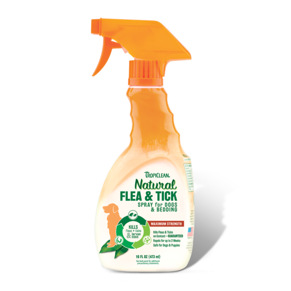 <b>15% OFF:</b> TropiClean Natural Flea & Tick Spray For Pets & Bedding