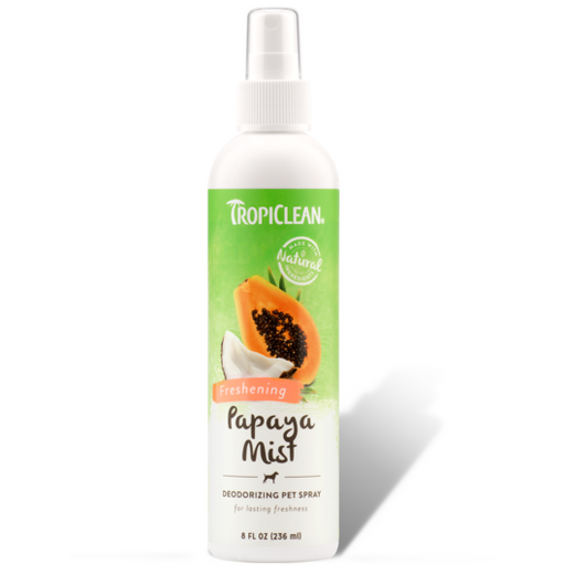 <b>15% OFF:</b> TropiClean Papaya Mist Deodorizing Pet Spray