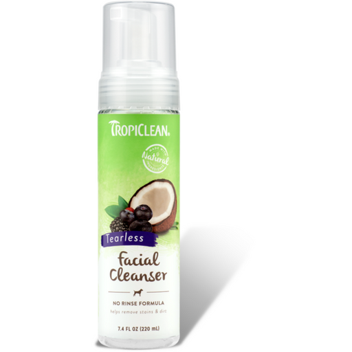 <b>15% OFF:</b> TropiClean Tearless Waterless Facial Cleanser