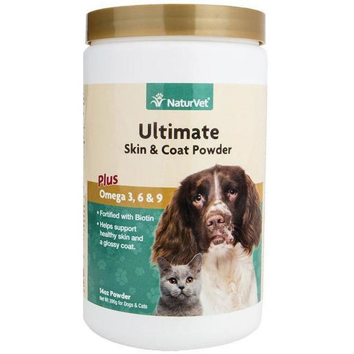 <b>20% OFF:</b> NaturVet Ultimate Skin & Coat Powder Plus Omega 3, 6 & 9