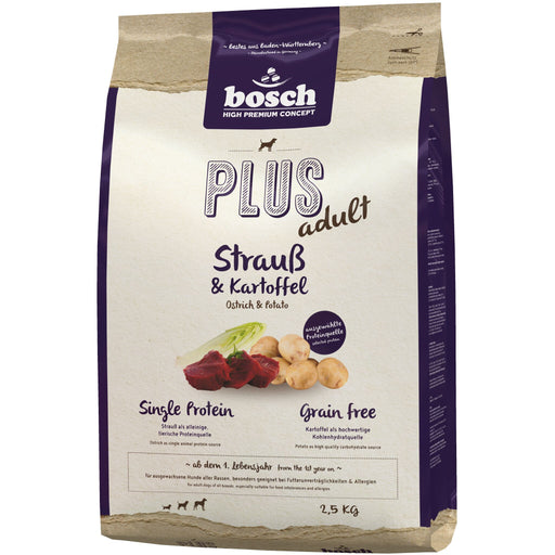 <b>10% OFF:</b> Bosch High Premium Concept Plus Grain Free Ostrich & Potato Adult Dry Dog Food
