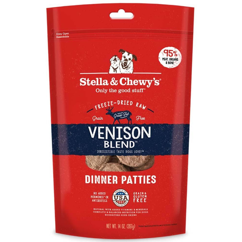 Stella & Chewy Freeze-Dried Raw Venison Blend Dinner Patties
