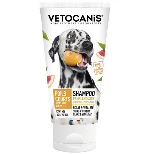 Vetocanis Grapefruit Shampoo For Short/Very Short Hair Dogs
