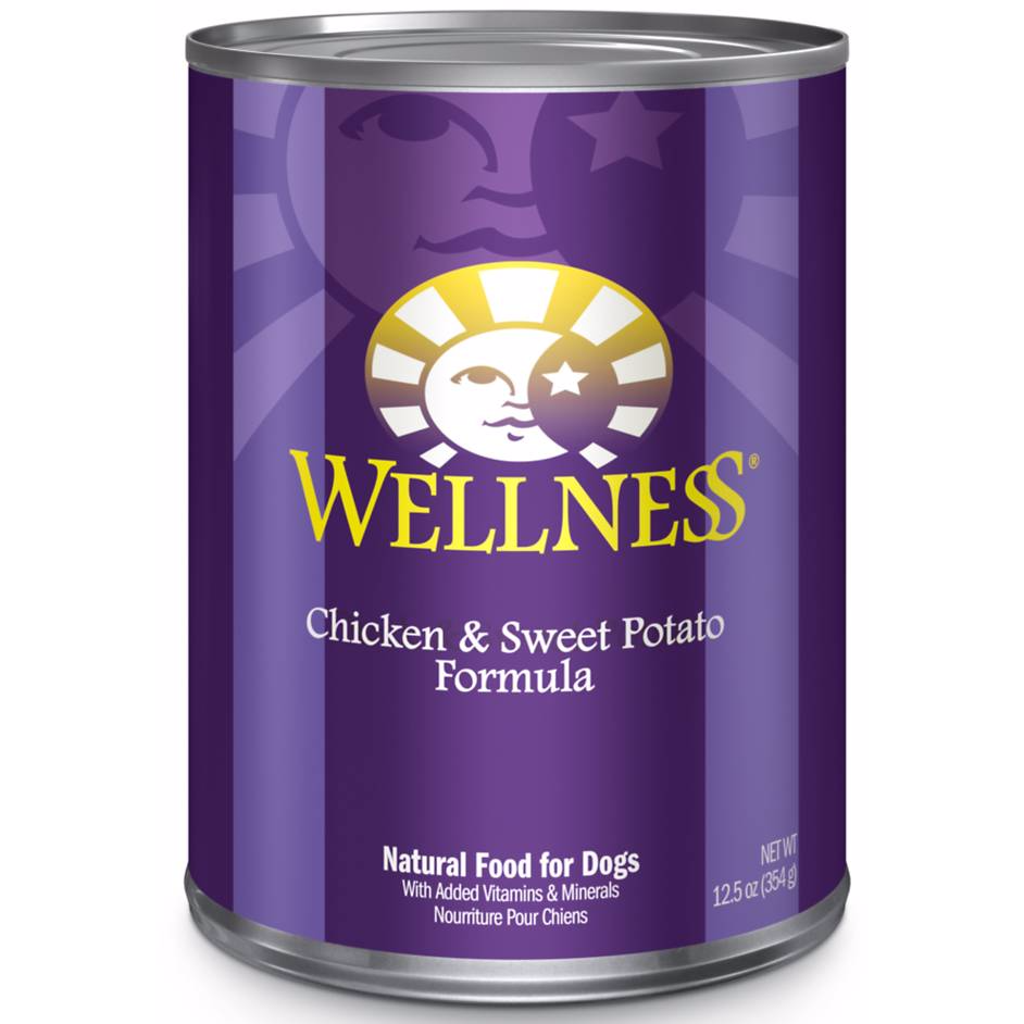 <b>20% OFF:</b> Wellness Complete Health Chicken & Sweet Potato Wet Dog Food