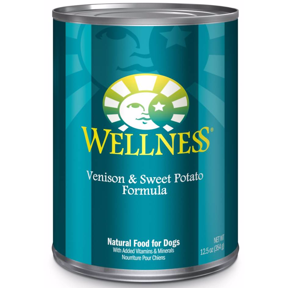 Wellness Complete NZ Venison & Sweet Potato Wet Dog Food