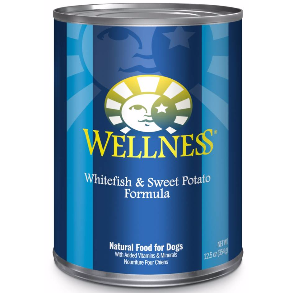<b>20% OFF:</b> Wellness Complete White Fish & Sweet Potato Wet Dog Food