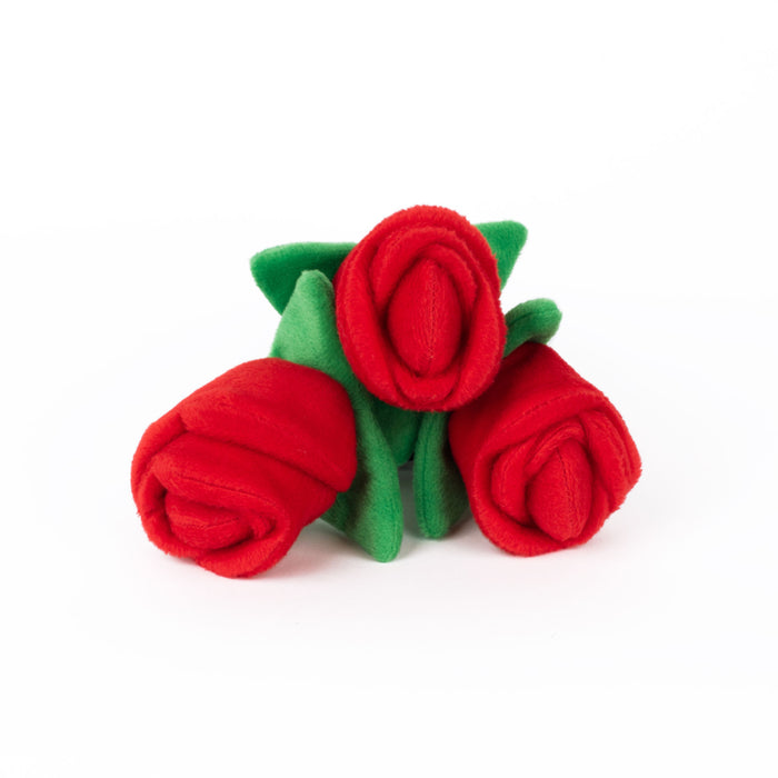 ZippyPaws Zippy Burrow Bouquet of Roses Toy