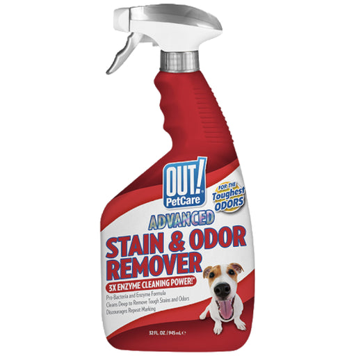 <b>10% OFF:</b> OUT! PetCare Advanced Severe Stain & Odour Remover Spray