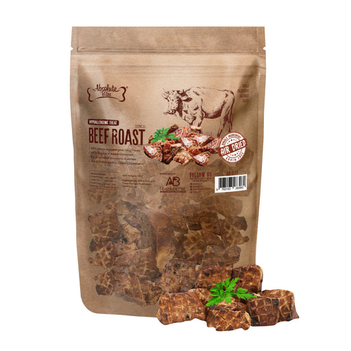 Absolute Bites Air Dried Beef Roast Treats