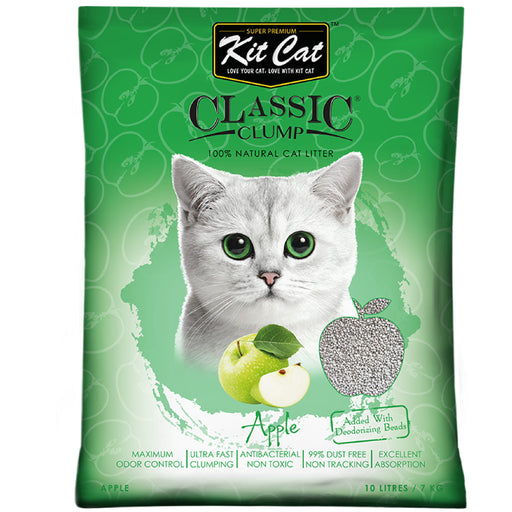 Kit Cat Classic Clump Apples Cat Litter