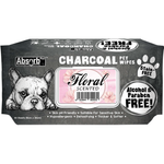 <b>BUY 1 FREE 1: </b> Absolute Absorb Plus Charcoal Floral Scented Anti Bacteria Pet Wipes