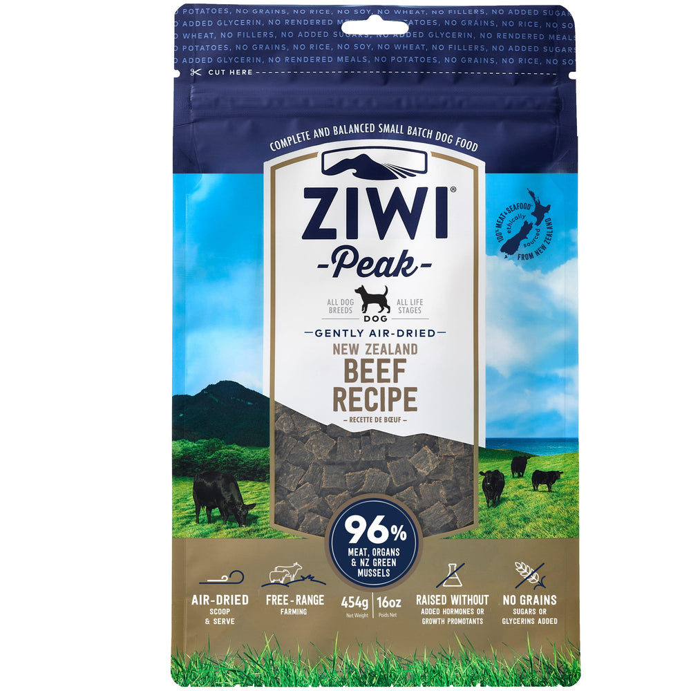 <b>20% OFF:</b> Ziwi Peak Air Dried Beef Recipe Dry Dog Food