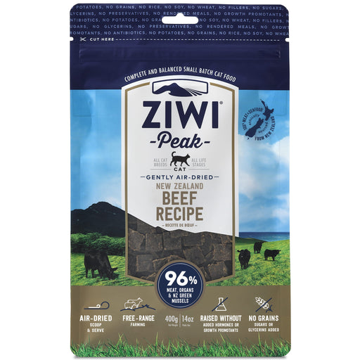 [PAWSOME] <b>20% OFF:</b> Ziwi Peak Air Dried Beef Dry Cat Food