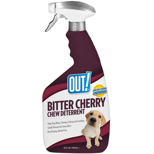 <b>10% OFF:</b> OUT! PetCare Bitter Cherry Dog Chew Deterrent