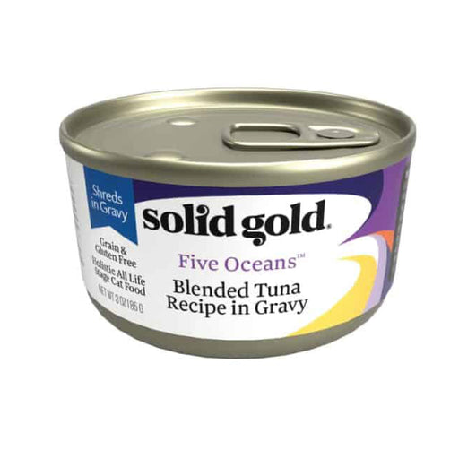 <b>10% OFF:</b> Solid Gold Grain Free Five Oceans With Blended Tuna In Gravy Wet Cat Food