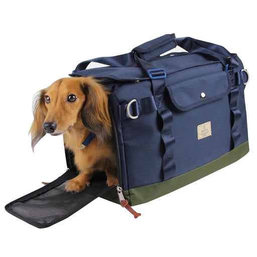 Sputnik Multi Function Blue Lightweight Breathable Pet Carrier