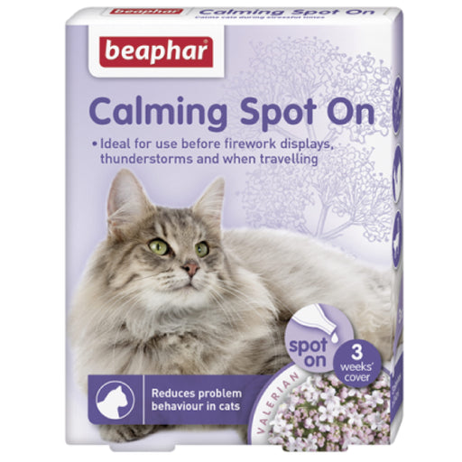 <b>10% OFF:</b> Beaphar Calming Spot On For Cats