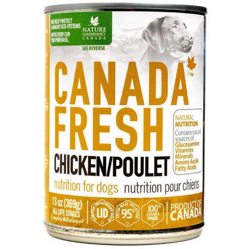 <b>10% OFF:</b> Canada Fresh Grain Free Chicken Formula Wet Dog Food