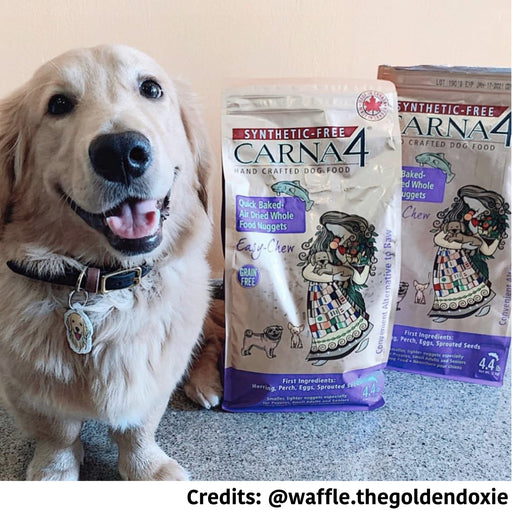 [PAWSOME DEAL] <b>2 BAGS FOR ADDITIONAL 10% OFF:</b> Carna4 Air Dried Dog Food