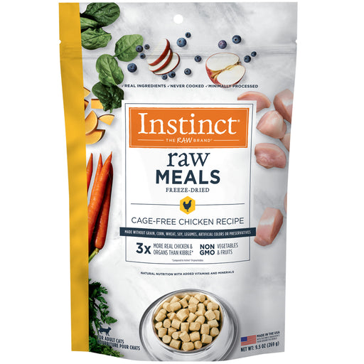 Instinct® Raw Freeze-Dried Meals Cage-Free Chicken Recipe For Cats