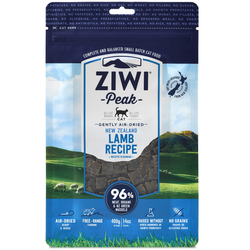[PAWSOME] <b>20% OFF:</b> Ziwi Peak Air Dried Lamb Dry Cat Food
