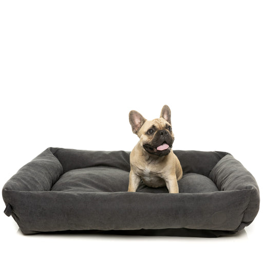 FuzzYard The Lounge Pet Bed In Charcoal
