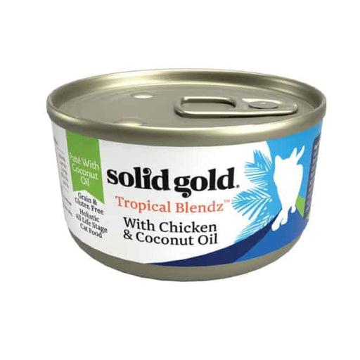 <b>10% OFF:</b> Solid Gold Grain Free Tropical Blendz With Chicken & Coconut Oil Wet Cat Food
