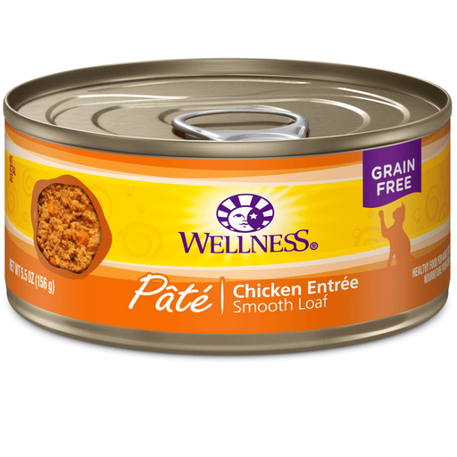 <b>15% OFF:</b> Wellness Complete Health Grain Free Pâté Chicken Wet Cat Food