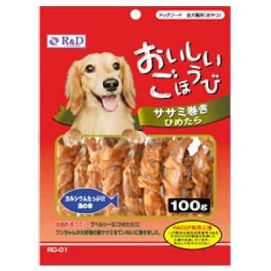 <b>30% OFF:</b> R&D Chicken Fillet Rolled Small Pollack For Dogs