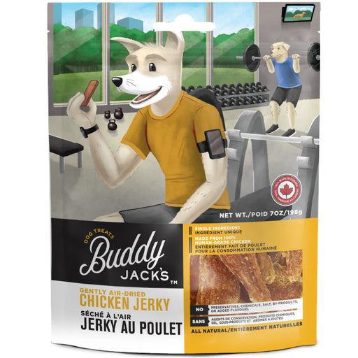 <b>15% OFF:</b> Canadian Jerky Buddy Jack's Gently Air Dried Chicken Jerky Treats For Dogs