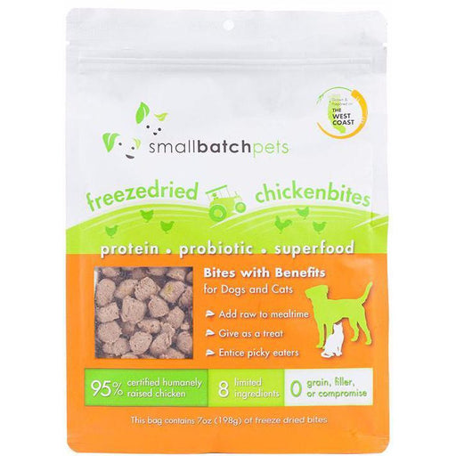 <b>20% OFF:</b> Small Batch Freeze Dried Chicken Bites