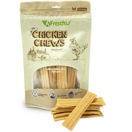 Afreschi Sliced Chicken Flat Chews For Dogs