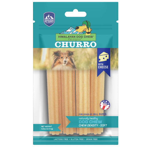 Himalayan Pet Supply Churro Cheese Dog Chew