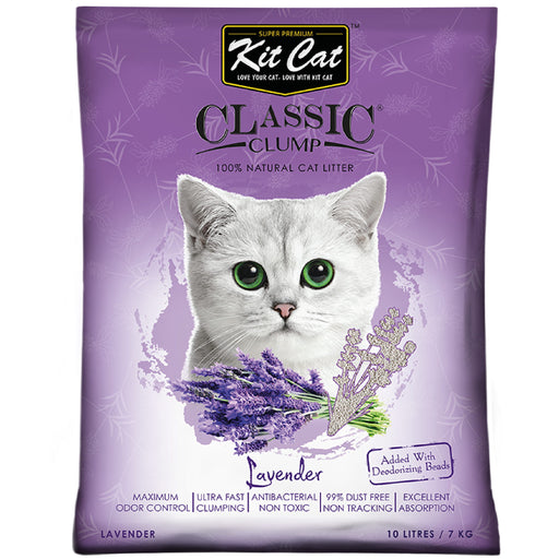 Kit Cat Classic Clump Lavender Cat Litter