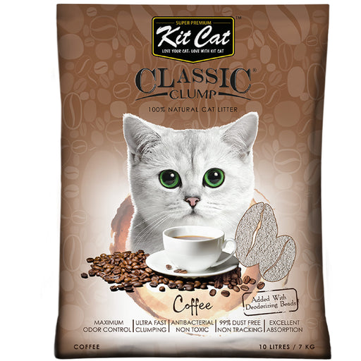 Kit Cat Classic Clump Coffee Cat Litter