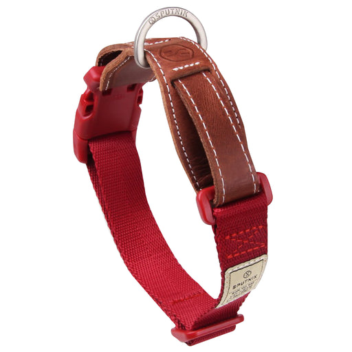 Sputnik Explore Red Dog Collar