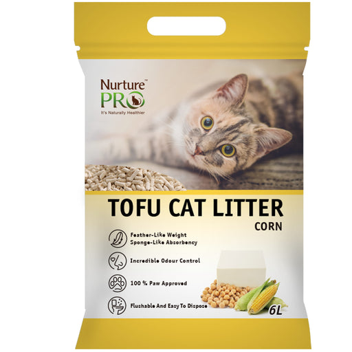<b>15% OFF:</b> Nurture Pro Corn Tofu Cat Litter