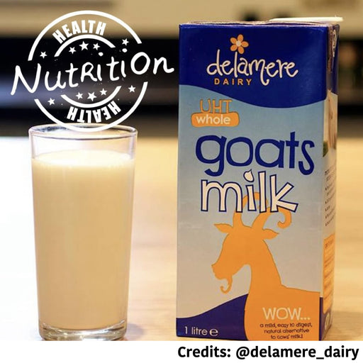 [PAWSOME DEAL] <b>3 FOR $20:</b> Delamere UTH Whole Goats Milk