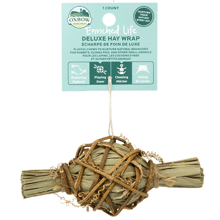<b>20% OFF:</b> Oxbow Enriched Life Natural Chews Deluxe Hay Wrap