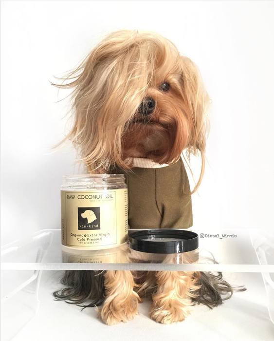 Kin + Kind Raw Coconut Oil (Skin & Coat) For Dogs & Cats
