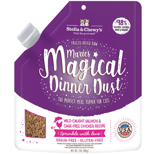 [PAWSOME] <b>$29.90:</b> Stella & Chewy Marie's Magical Salmon & Chicken Dinner Dust For Cats