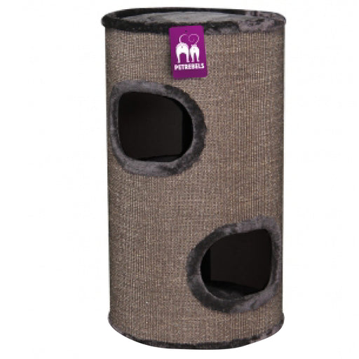 <b>15% OFF:</b> PetRebels Dome 80 Brown Cat Tree