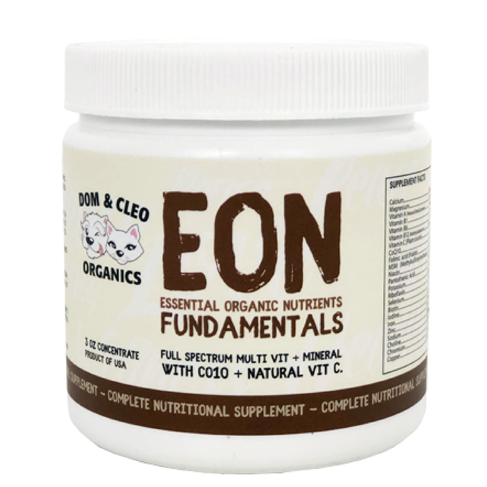 <b>10% OFF:</b> Dom & Cleo Organics EON Fundamentals For Dogs & Cats