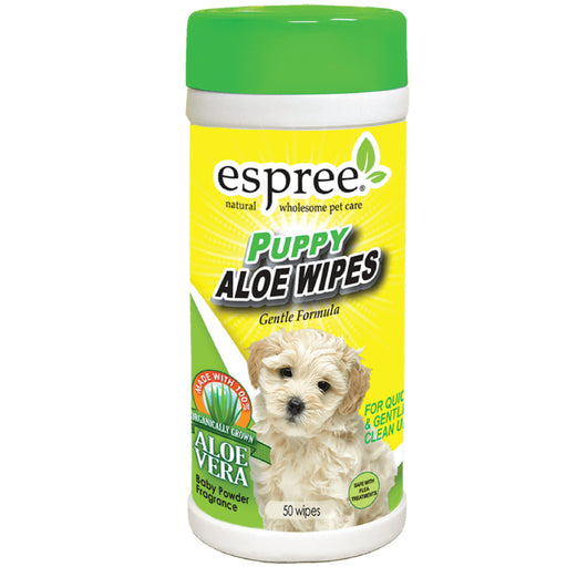 <b>15% OFF:</b> Espree Puppy Aloe Wipes For Dogs