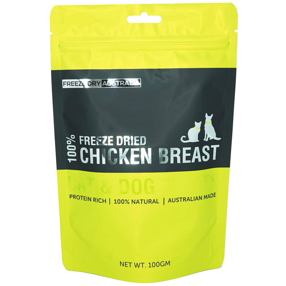 Freeze Dry Australia Freeze Dried Diced Chicken Breast For Dogs & Cats