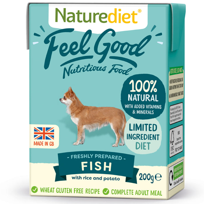 NatureDiet Feel Good Fish Wet Dog Food